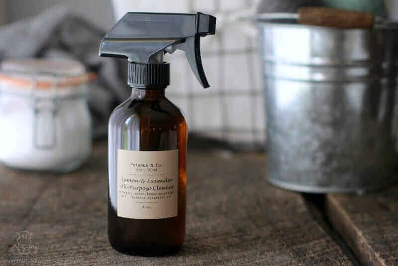 DIY All-Purpose Cleaner With Lemon & Lavender