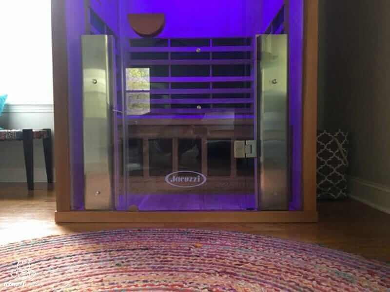 jacuzzi clearlight sauna