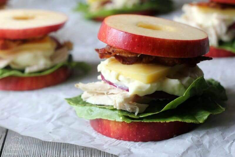 apple sandwich how to