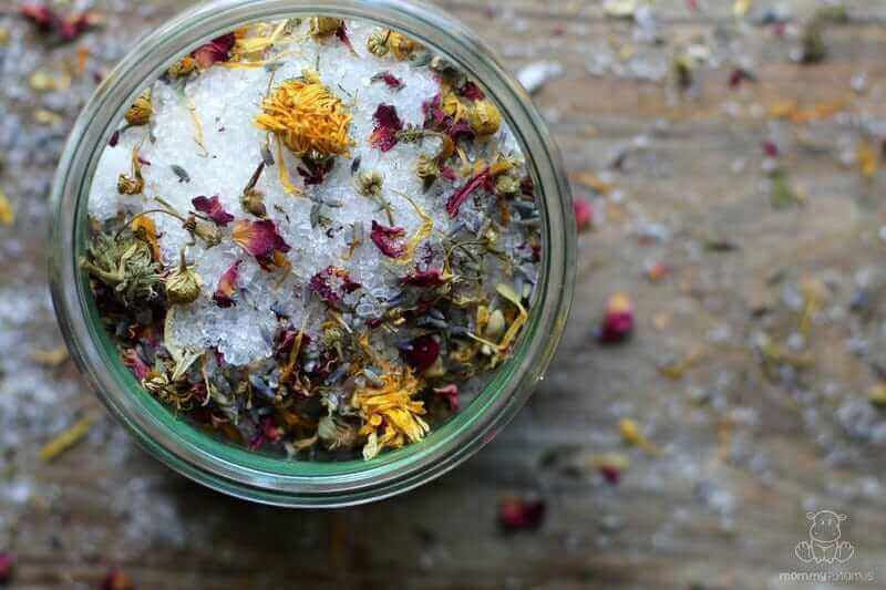 Homemade Bath Salts Recipe (How To Make Relaxation In A Jar)