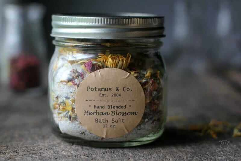 how to make bath salts essential oils
