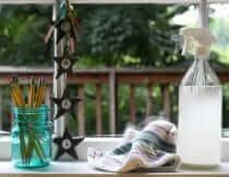 Streak-Free Homemade Window Cleaner