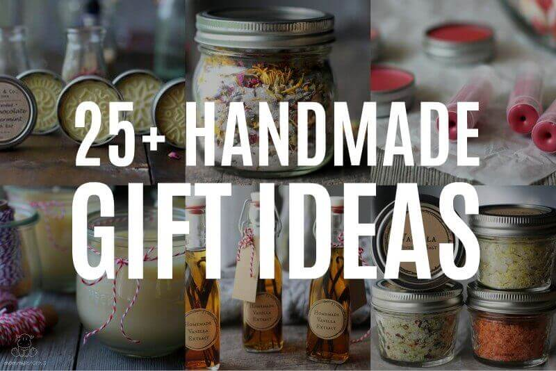 25 Homemade Gift Ideas That Are Easy To Make