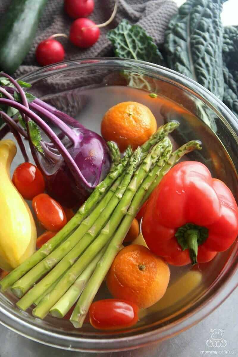 diy fruit vegetable wash recipes