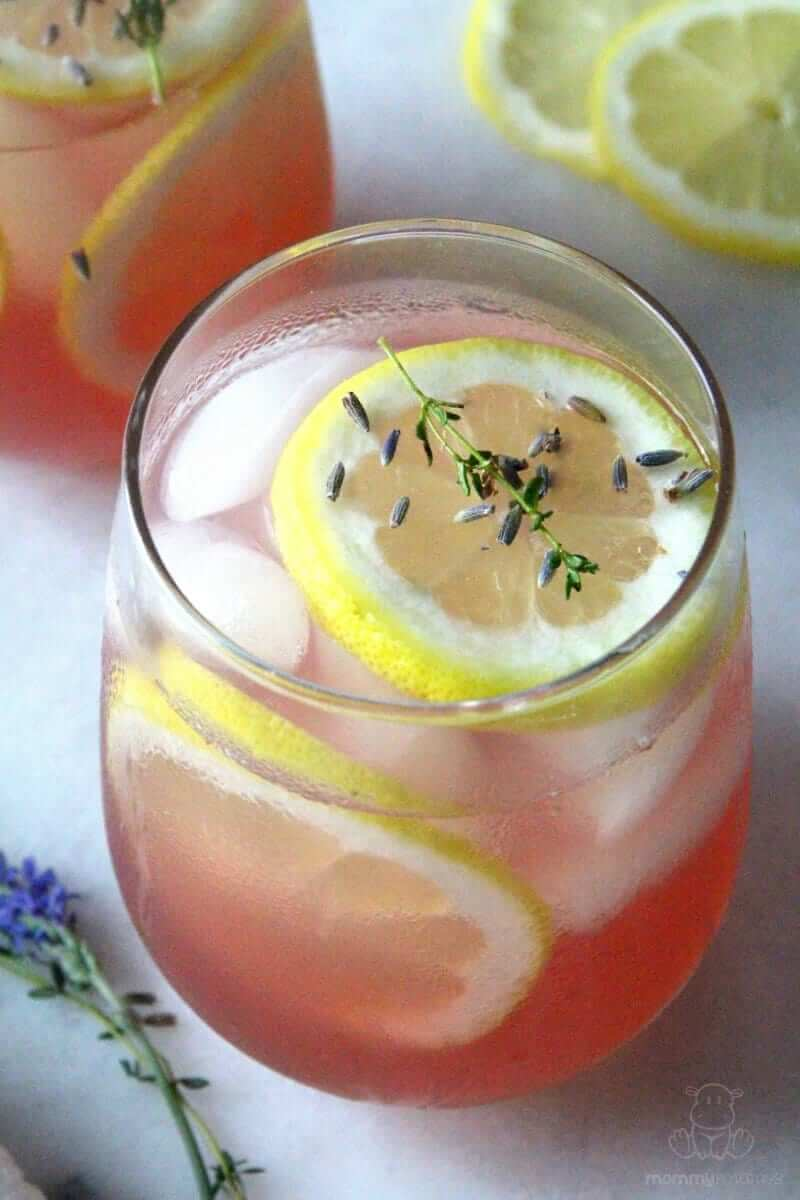 This refreshing lavender lemonade is tart and sweet with aromatic notes of lavender and a hint of thyme. Serve it in the classical style, or dress it up by replacing the water with sparkling mineral water.