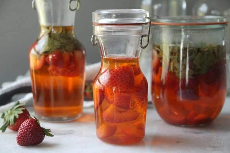 Strawberry Infused Vinegar Recipe