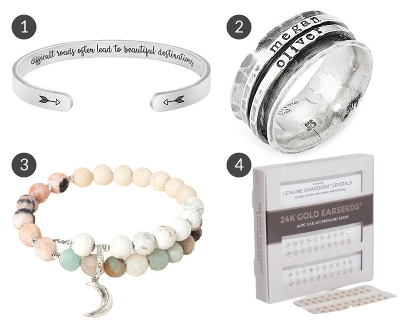 These twenty four products are excellent gift ideas for the healthy living minded woman in your life.