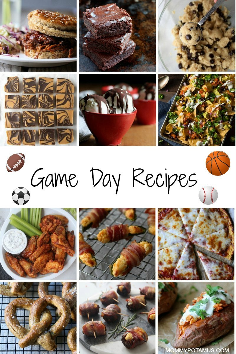 Recipes for game day
