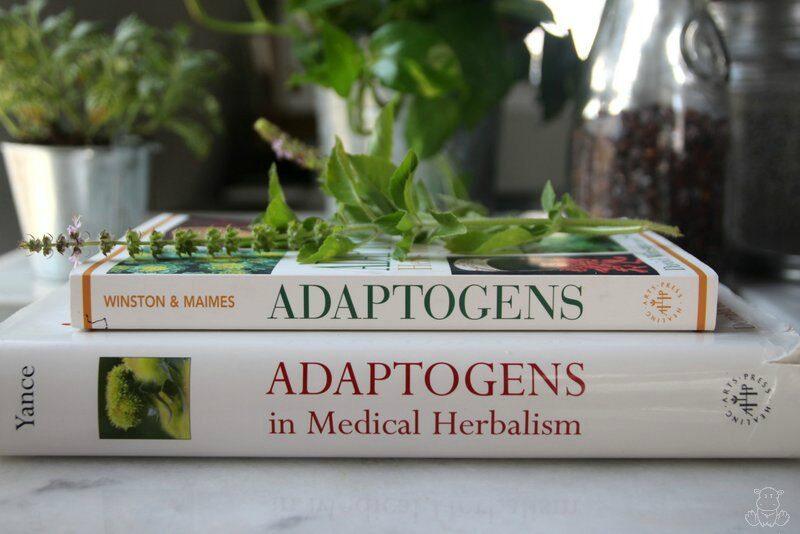herbal books adaptogens