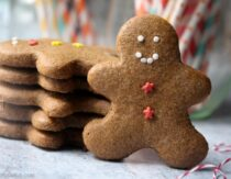 Soft Gingerbread Cookies Recipe (Gluten-Free, Paleo)