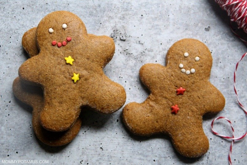 gluten free gingerbread cookies recipe paleo