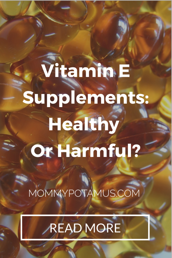vitamin e supplements tocopherol
