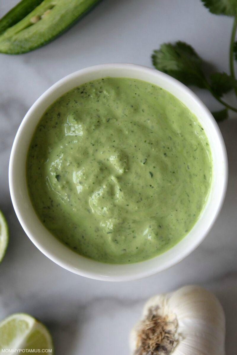 aji verde peruvian green sauce recipe