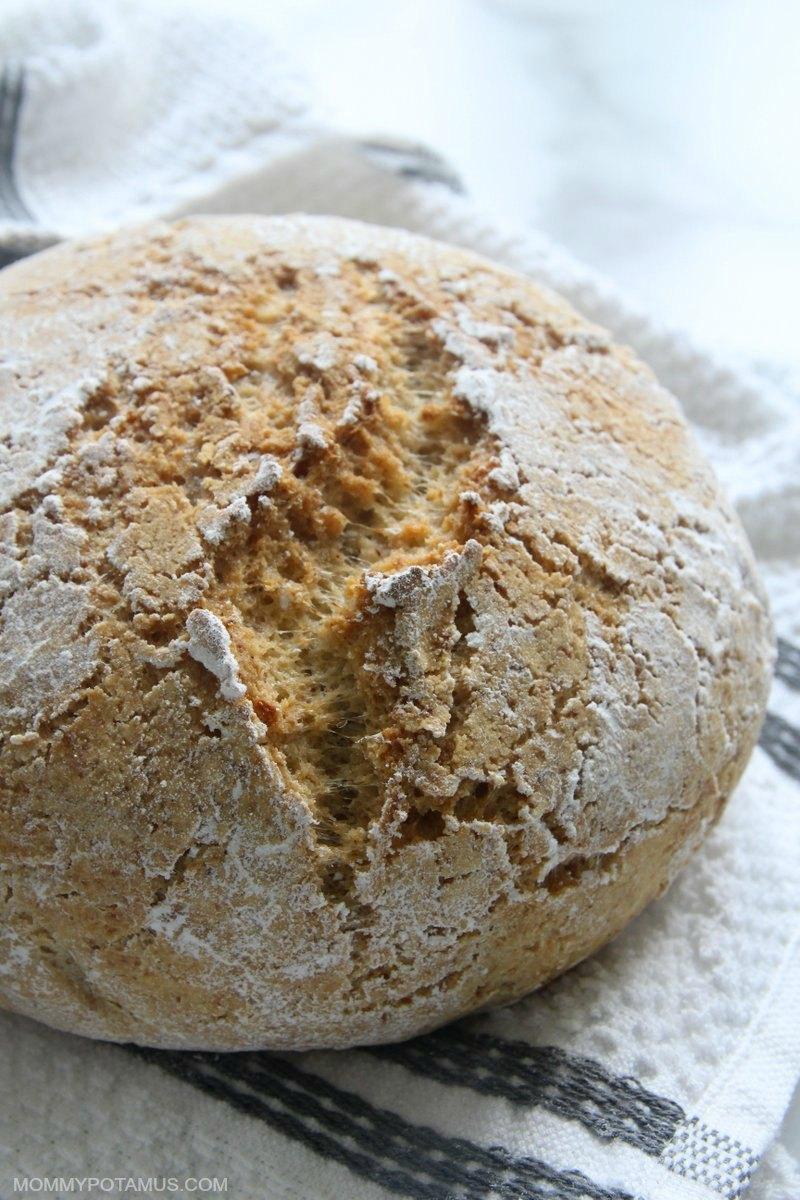 gluten free artisan boule bread recipe
