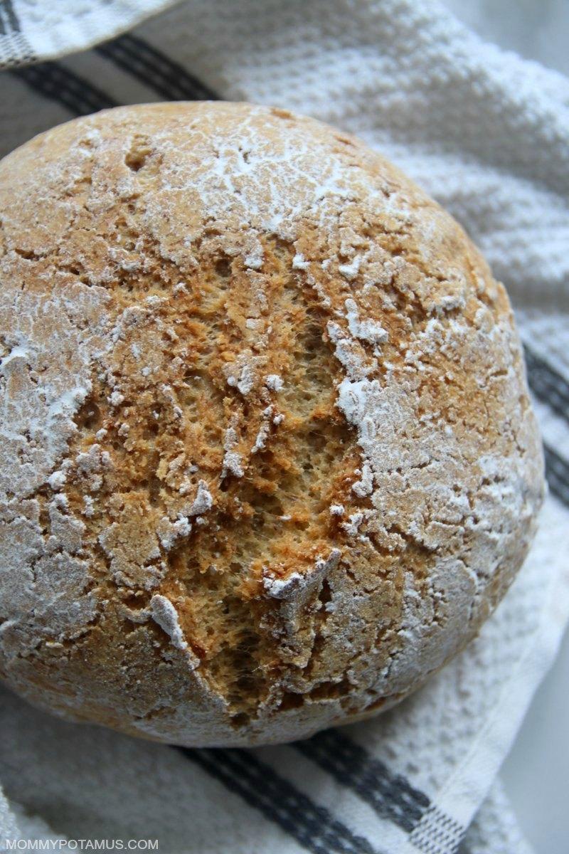 gluten free boule artisan bread recipe