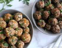 Easy Italian Oven Baked Meatballs