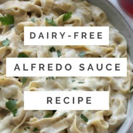 dairy-free Alfredo sauce