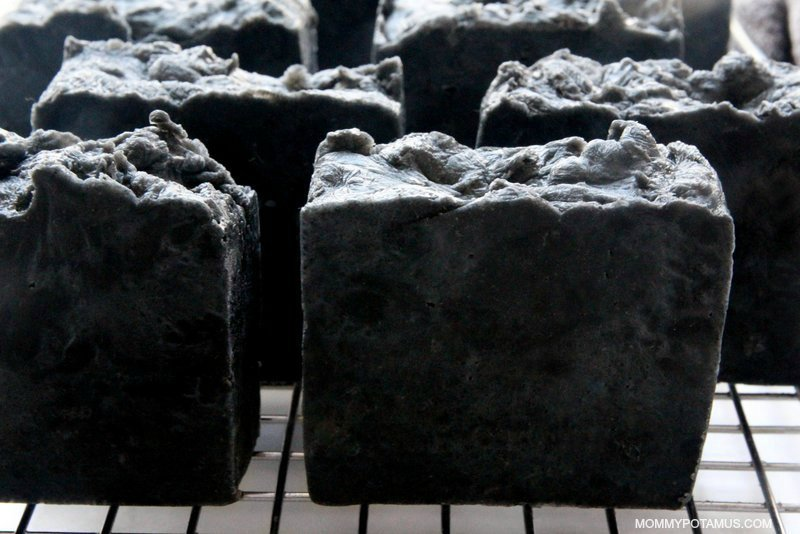 diy activated charcoal soap recipe