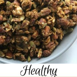 healthy pumpkin spice granola recipe