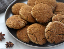 Soft & Chewy Chai Cookies (Gluten-Free, Paleo)