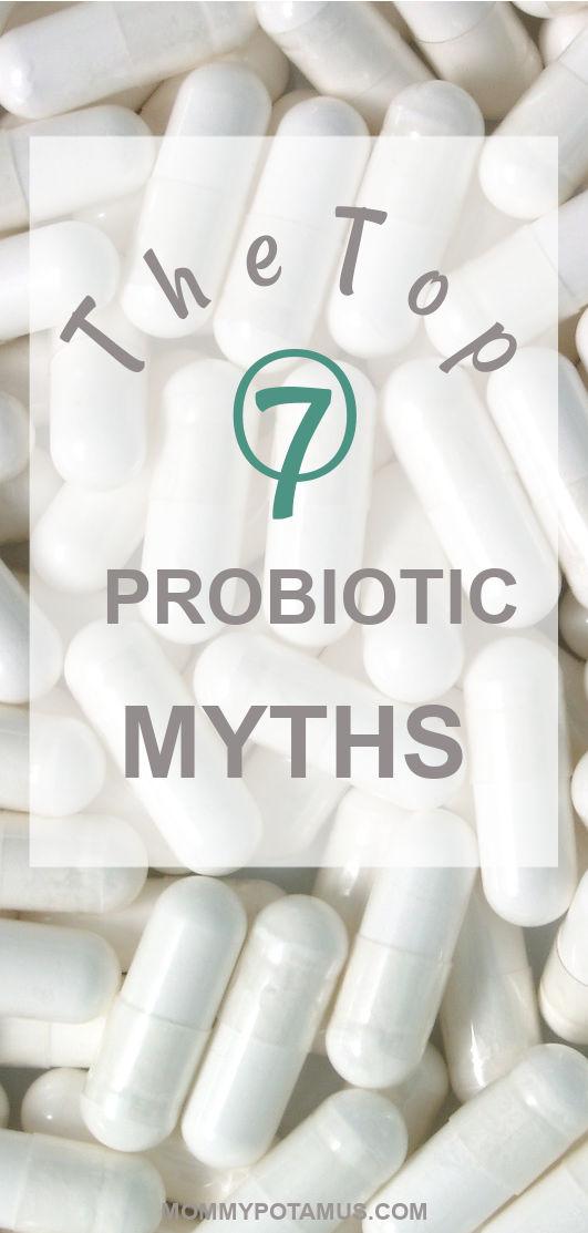 Overhead view of probiotic capsules