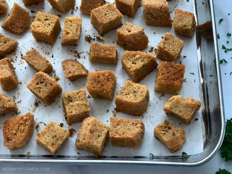 gluten free croutons recipe