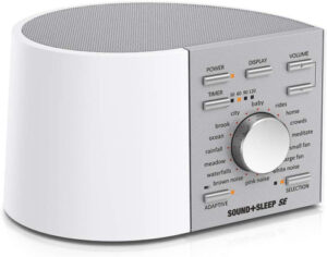Sound + Sleep SE adaptive pink noise sound machine