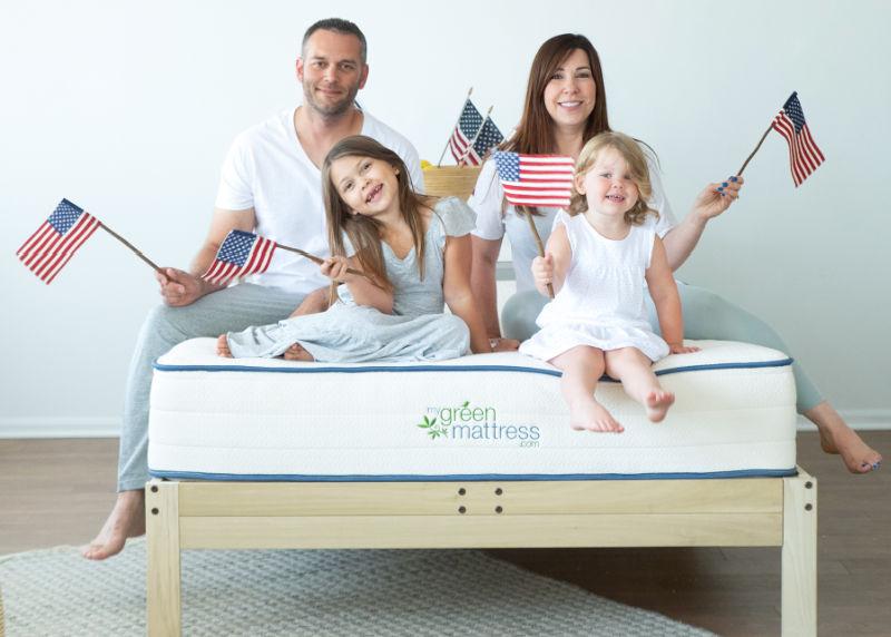 my green mattress memorial day