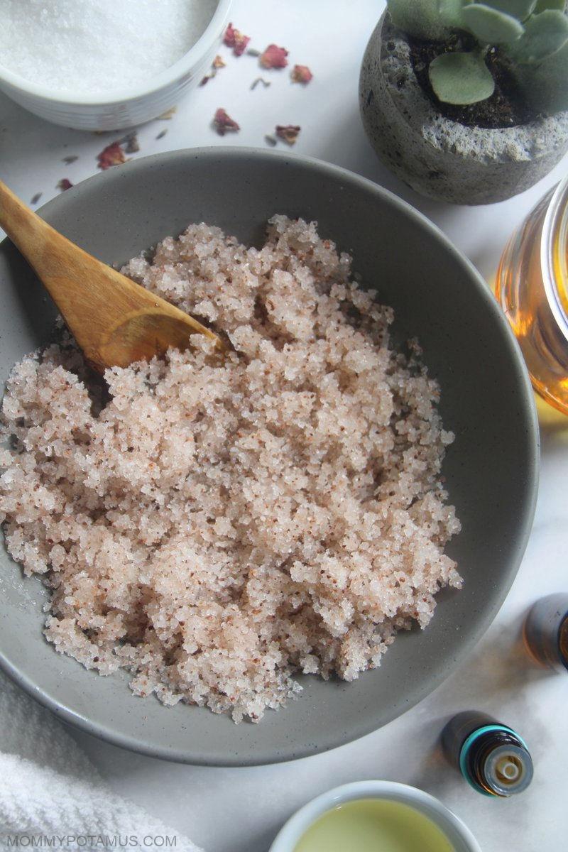 homemade body scrub recipes for glowing skin