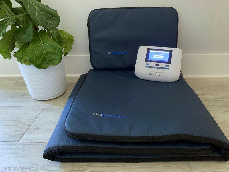 BioBalance full body PEMF mat, pillow applicator and control unit