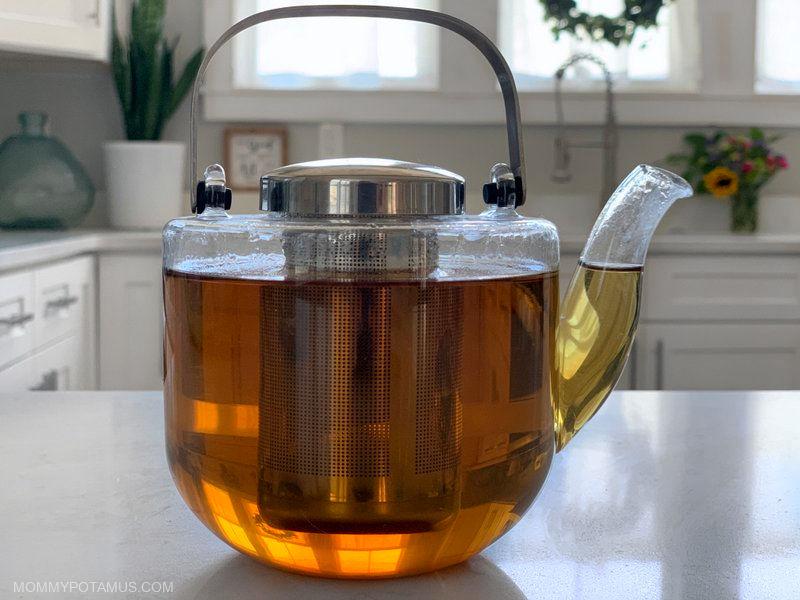 lemon balm benefits tea recipe