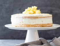 Gluten-free coconut cream cake