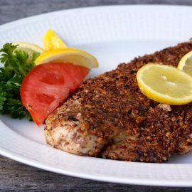 Pecan Crusted Grouper