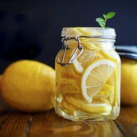 how to preserve lemons ferment