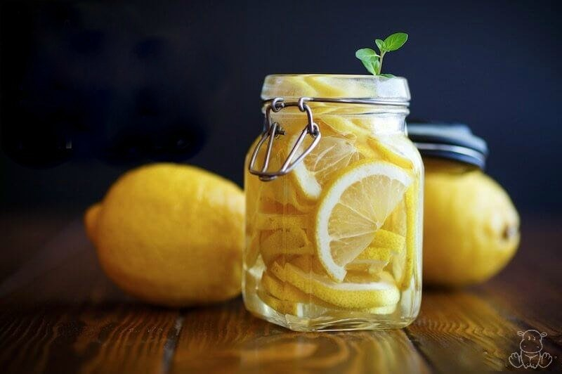how to preserve lemons ferment