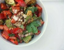 Mexican chopped salad in bowl