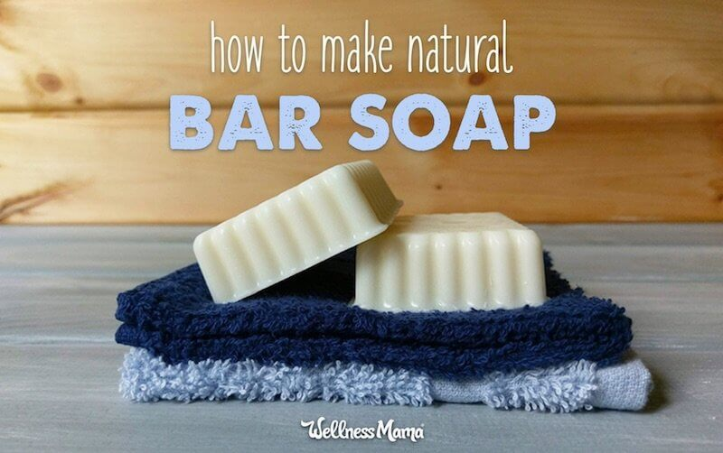 diy natural bar soap recipe