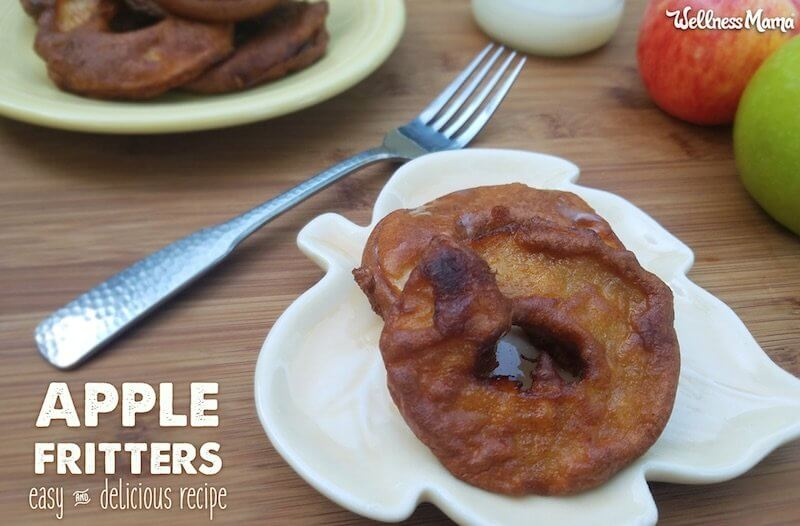 easy apple fritter recipe