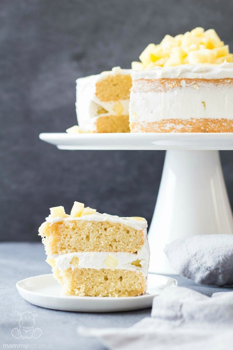 gluten free coconut cream cake recipe