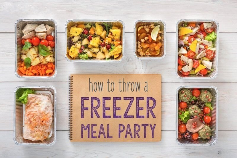 how throw freezer meal party