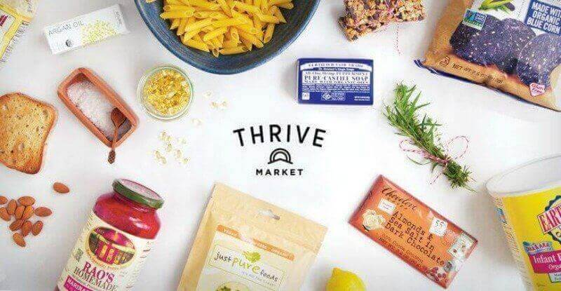 non-GMO products at Thrive Market