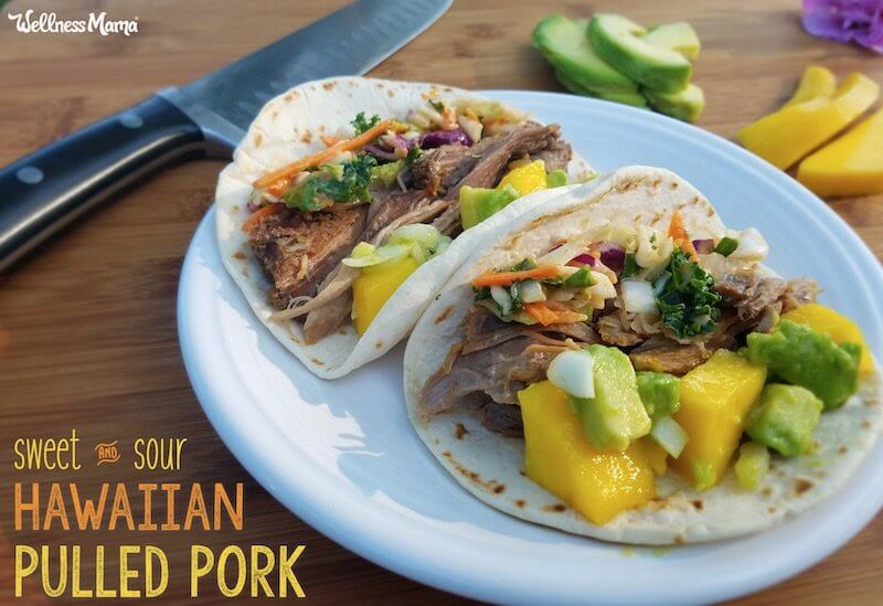 sweet sour hawaiian pulled pork