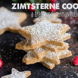 How To Make Zimtsterne A Traditional German Holiday Cookie